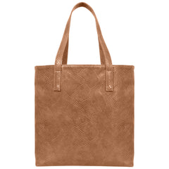 Svala Simma luxury vegan tote handbag in brown