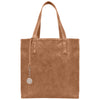 Brown Faux Snakeskin Vegan Leather Tote, Simma, Svala