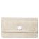 Sara Chain Wallet Purse - Cream