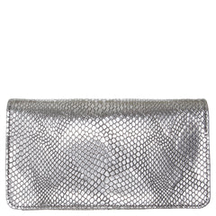 Svala vegan Sara chain wallet purse in silver