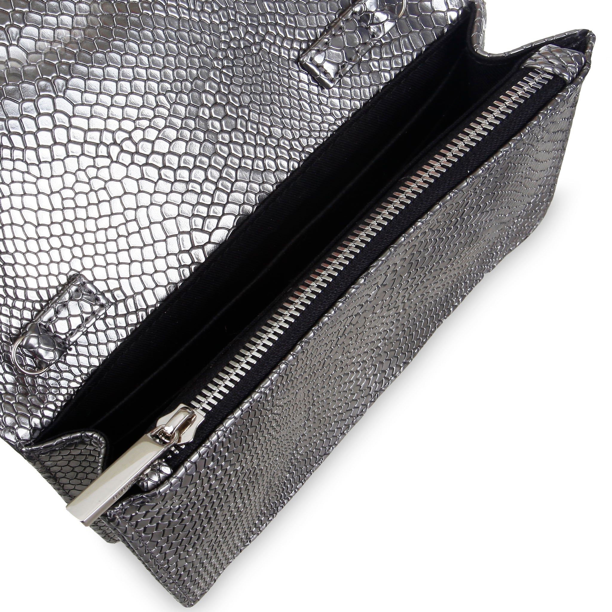 Svala vegan Sara chain wallet in silver