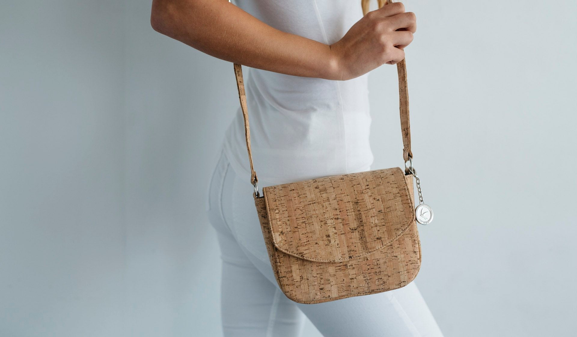 Svala vegan handbag cork luxury designer sustainable