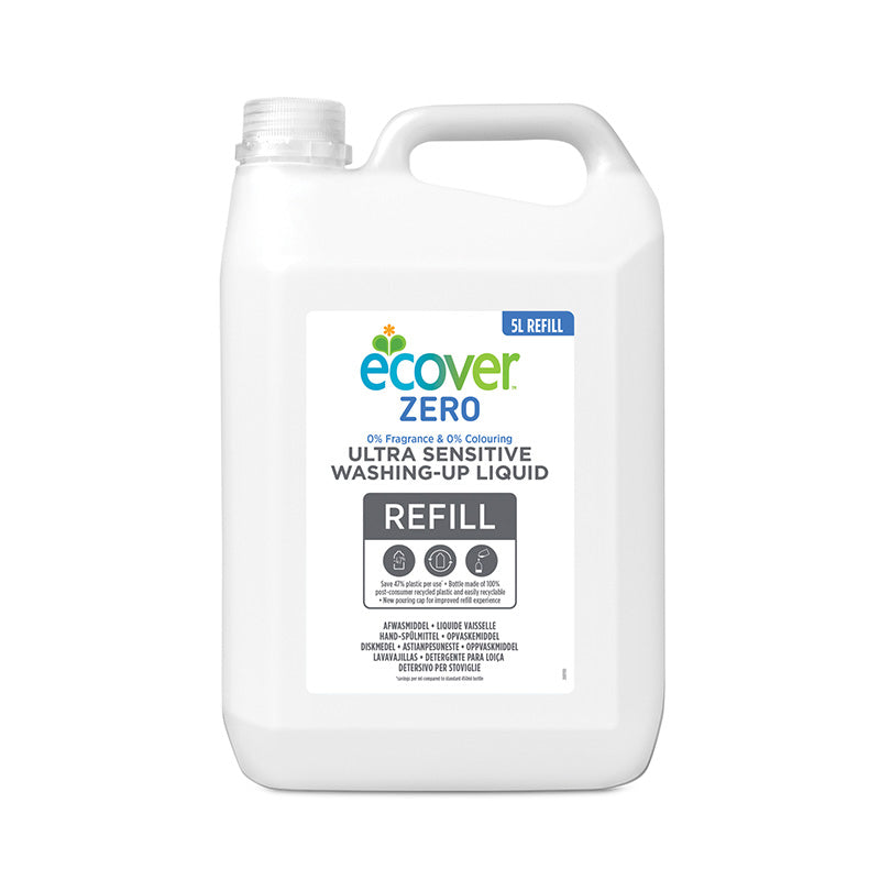 Zero Washing Up Liquid 5L