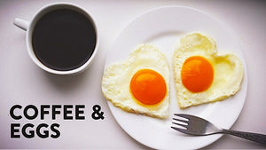 Coffee & Eggs With Mole Sauce