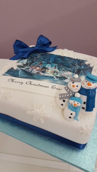Christmas Cake Class Glasgow - Friday 21st December