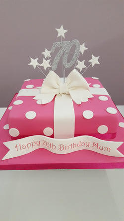 Parcel Cake Class Glasgow - Friday 19th July 2019 £75
