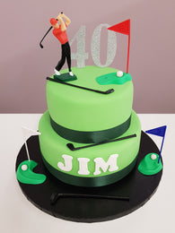 Golf Cake Kit - (including the cakes)