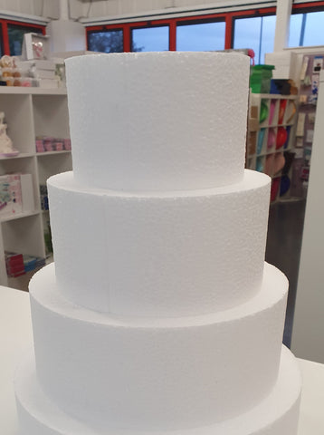 "3 TIER Cake dummy set  4"" deep"