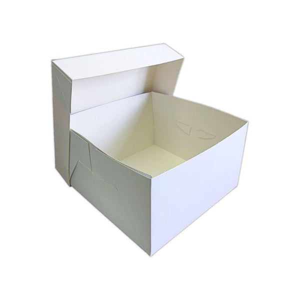 White Cake Box & Lid