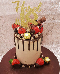 Chocolate Strawberry Drip Cake Class - Friday 5th July 2019 £85