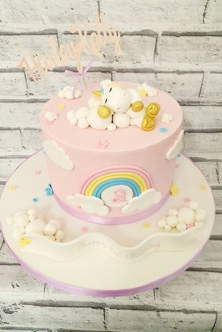 Sleeping Unicorn Cake