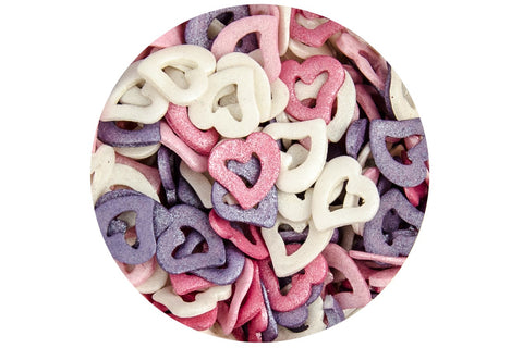 Scrumptious Sugar Open Hearts Dream Mix 50g (OUT OF STOCK)