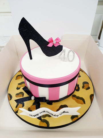 Shoe Birthday Cake 2736