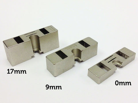 Salice Smoveholder Adaptor for Pressed Mount Plates - D2VX Series