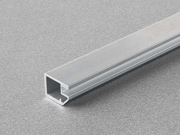 Salice Air Aluminium Door Profile Tapered Section for Glass 19mm width - DEL9LP300_