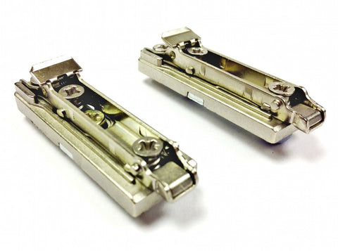 Salice Diecast Euro Clip-On Straight Mount Plates - BAPGR Series
