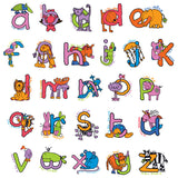 Bang On The Door Animal Alphabet Girls Lunch Bag