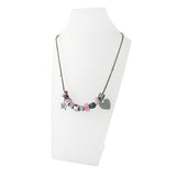 Pink Charm Necklace