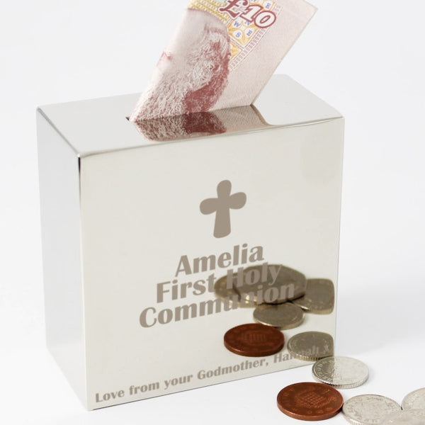Cross Square Money Box