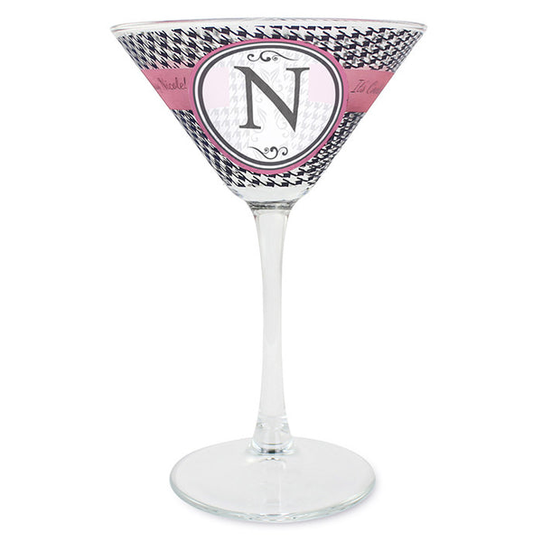 Houndstooth Cocktail Glass
