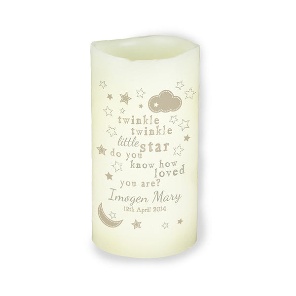 Twinkle Twinkle LED Candle