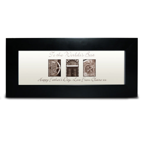 Affection Art Dad Small Frame