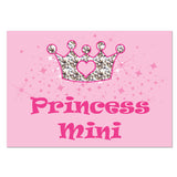 Pink Princess Pet Placemat