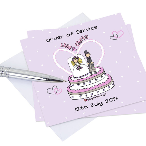 Bang on the Door Orders of Service Cards 20 Pack