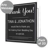 Classic Pack of 20 Cards/Invitations