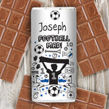Football Milk Chocolate Bar