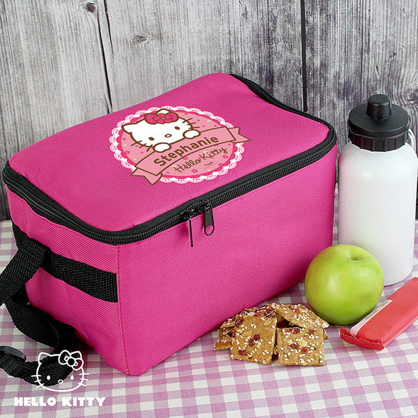 Hello Kitty Floral Lunch Bag