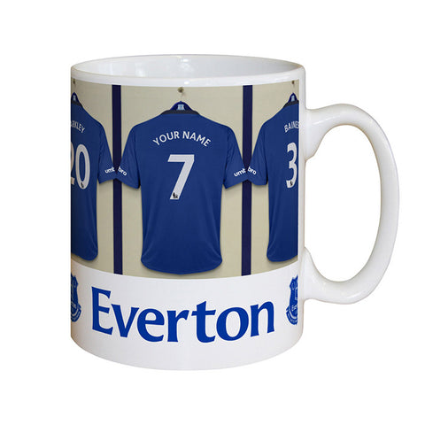 Everton Dressing Room Mug