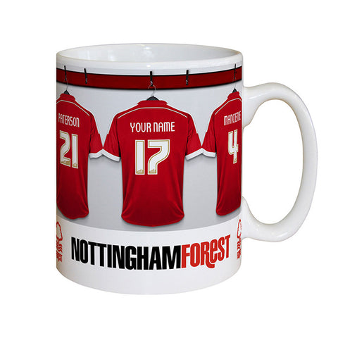 Personalised Nottingham Forest Dressing Room Mug