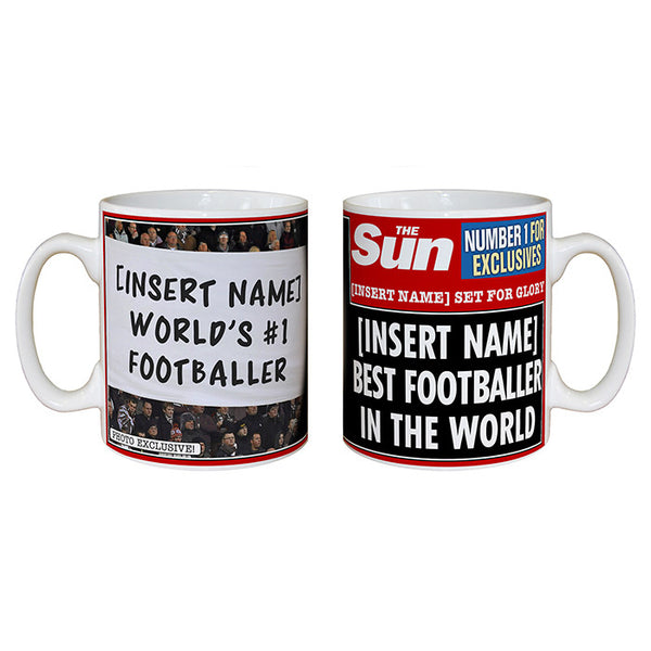 The Sun Best Footballer Mug
