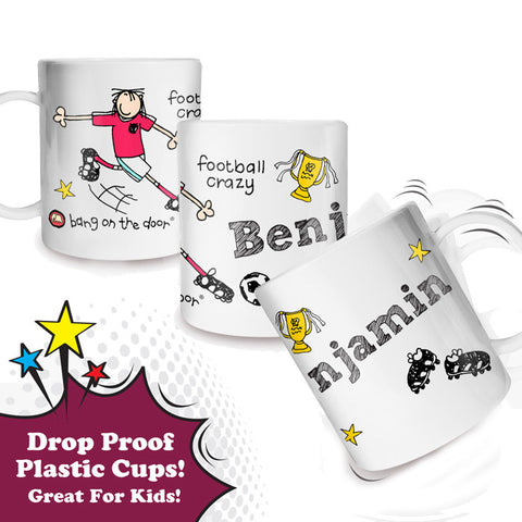 Football Crazy Plastic Cup
