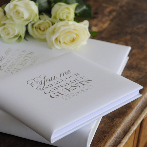 Gorgeous Guests Guest Book