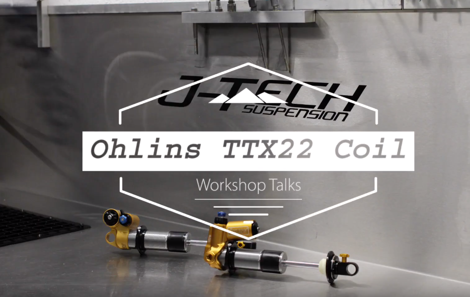 Workshop Talks - Ohlins TTX22 Coil Shock