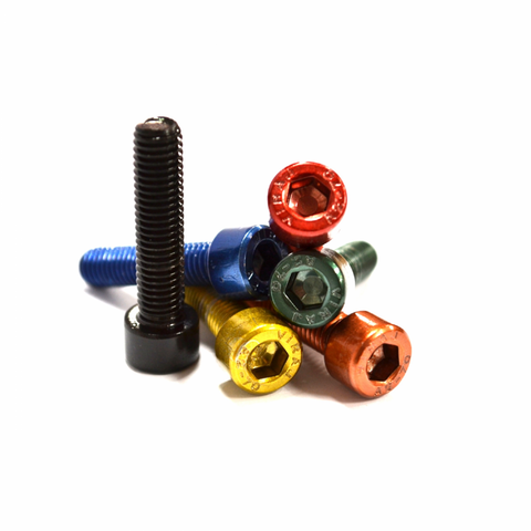 UNITE Components Coloured Stem Cap Bolts