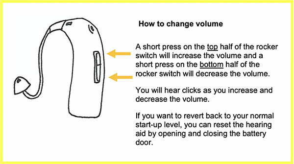 How to change volume