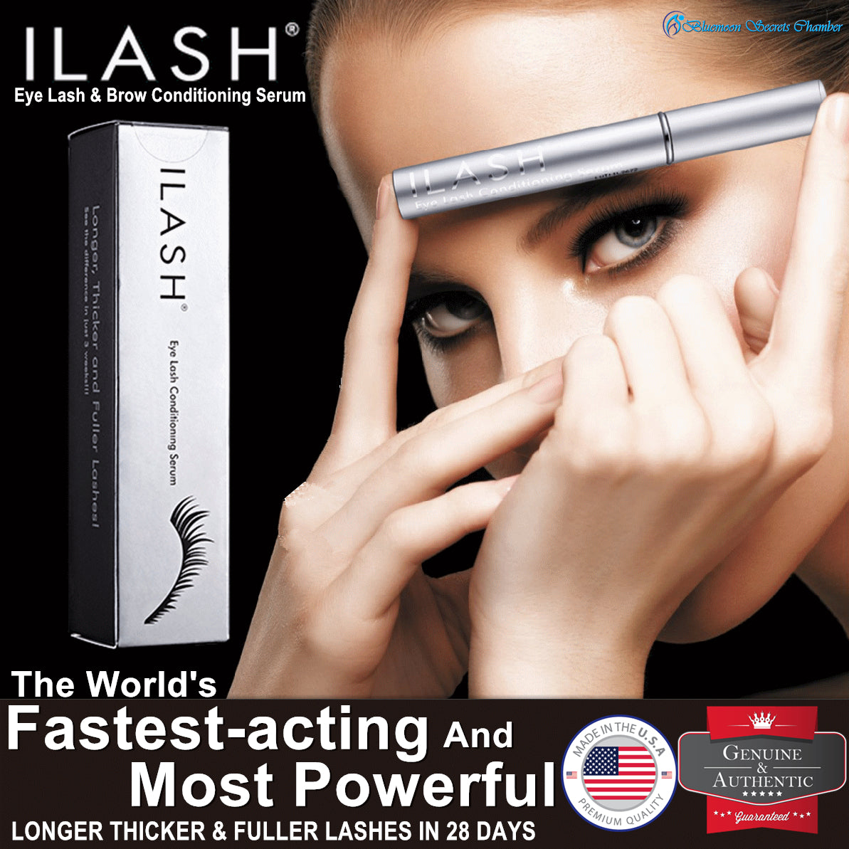 USA ILash | Eye Lash and Brow Conditioning Gel⭐美国神奇眼睫毛增长液 - Bluemoon Secrets Chamber