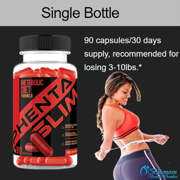 PhentaSlim Intense Fat Burner⭐3+1 Super Value package⭐100% NATURAL INGREDIENTS - Bluemoon Secrets Chamber
