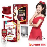 burner®Low frequency treatment device S4 (4 pads)- Hello Kitty Slimming Massager Black 倍熱®低週波治療器 - Bluemoon Secrets Chamber