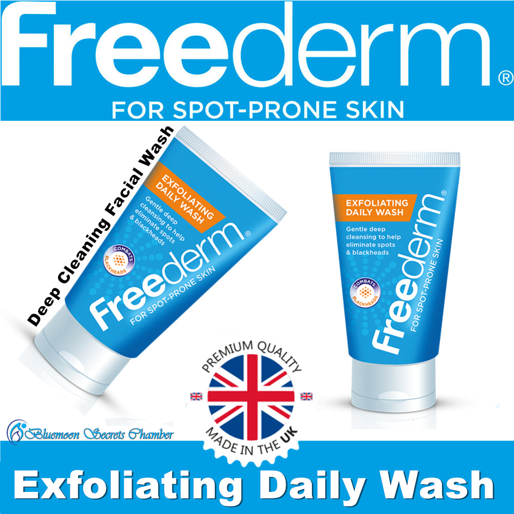 Freederm Exfoliating Daily Face Wash 150ml - Bluemoon Secrets Chamber