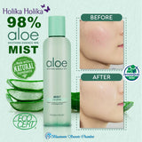 Holika Holika Aloe Vera Soothing Essence 98% Mist⭐惑丽客98%芦荟舒缓精华喷雾 - Bluemoon Secrets Chamber