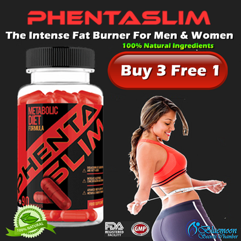 PhentaSlim Intense Fat Burner⭐3+1 Super Value package⭐100% NATURAL INGREDIENTS