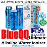 USA BLUEQQ Portable Alkaline Mineral Water Ionizer 700ml/1000ml Bottle/Cartridge★天然礦物質鹼性離子水 - Bluemoon Secrets Chamber