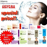 [DERMAL] Collagen Essence Mask Combo 10ea Set ★高效海洋滋润面膜 美白亮肤补水保湿10片装 - Bluemoon Secrets Chamber