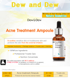 DEW & DEW  Acne Treatment Ampoule 30ml Made in Korea - Bluemoon Secrets Chamber
