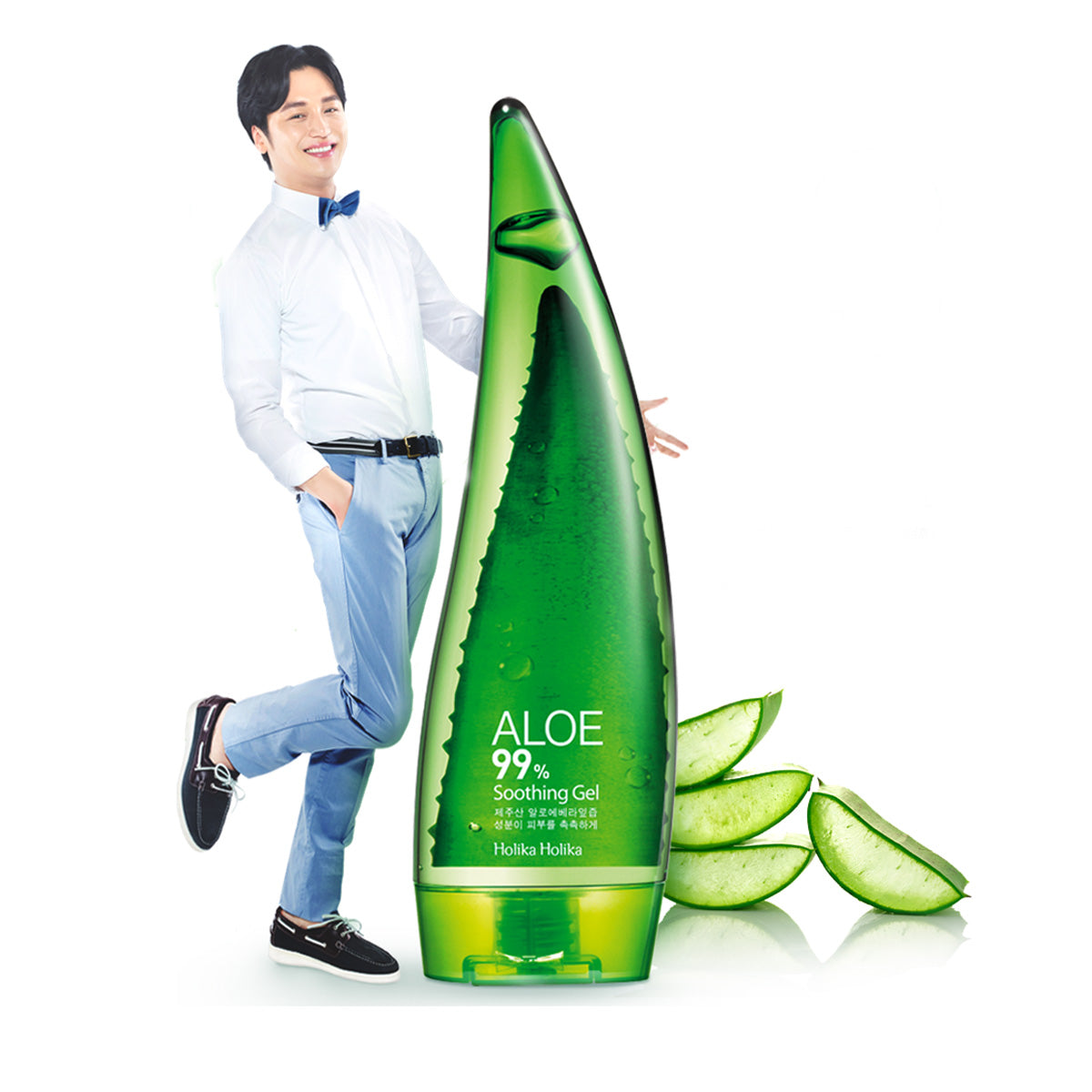 Aloe Vera Soothing Gel⭐[Holika Holika] 99% 250ml⭐Welcos Kwailnara 98% 500ml⭐韓國原裝進口水果之鄉蘆薈膠 - Bluemoon Secrets Chamber