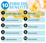 BHK's Patented Fish Oil OMEGA-3 Softgels ⭐ 專利魚油Omega-3 軟膠囊 - Bluemoon Secrets Chamber